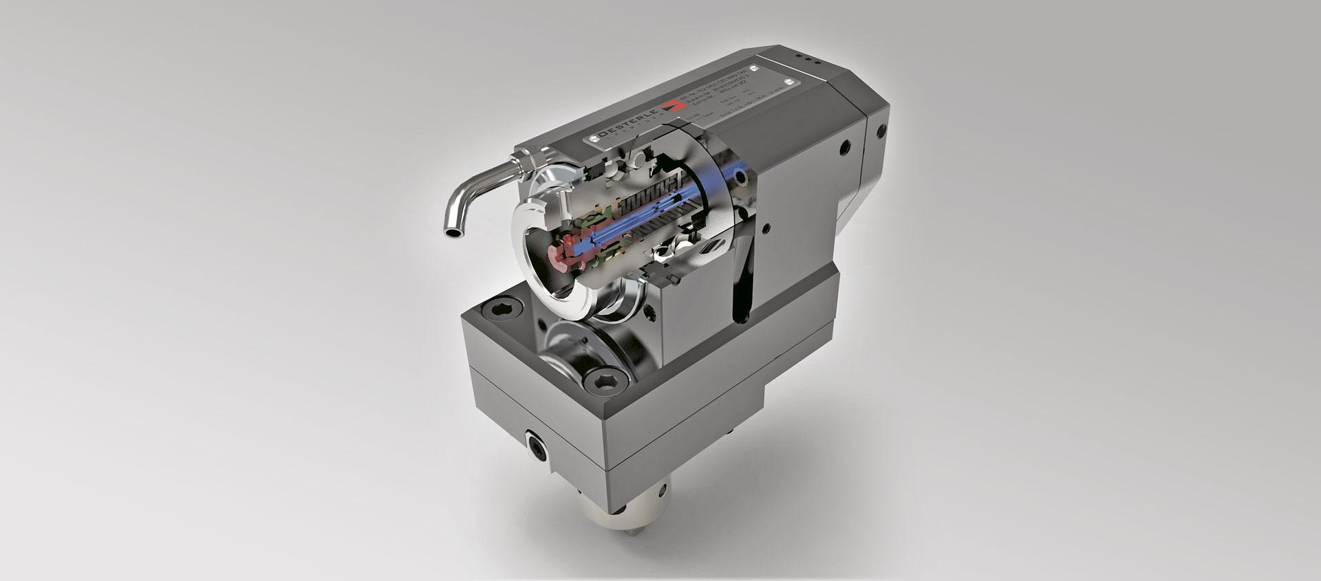 Drehmaschine Biglia Schnellwechselsystem Capto Oesterle + Partner