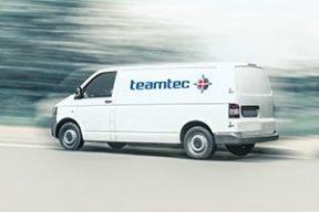teamtec Kundendienst Serivce Ersatzteile