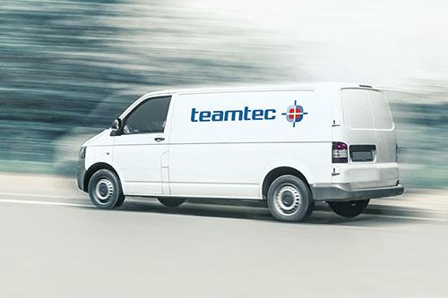 teamtec Service Ersatzteile