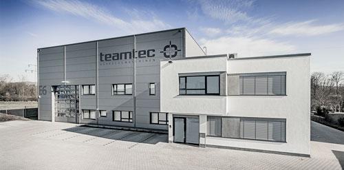 teamtec Gebäude Alzenau Technologiezentrum