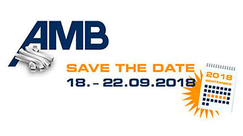 Save the Date AMB 2018
