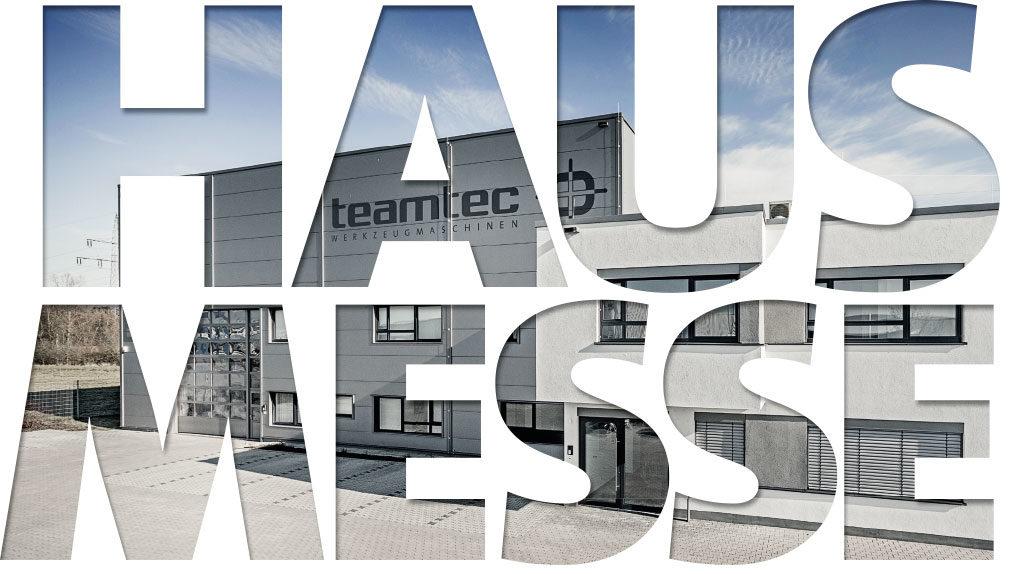 Hausmesse Hausausstellung Open House teamtec 2018