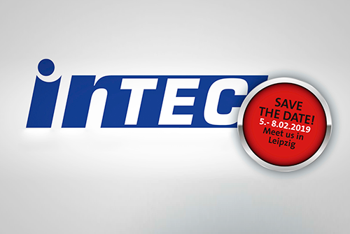 Save the Date teamtec Intec 2019